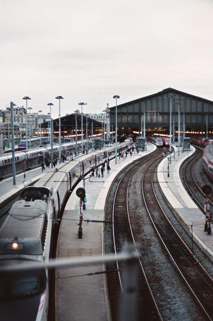 Paris Gare Photography Argentique