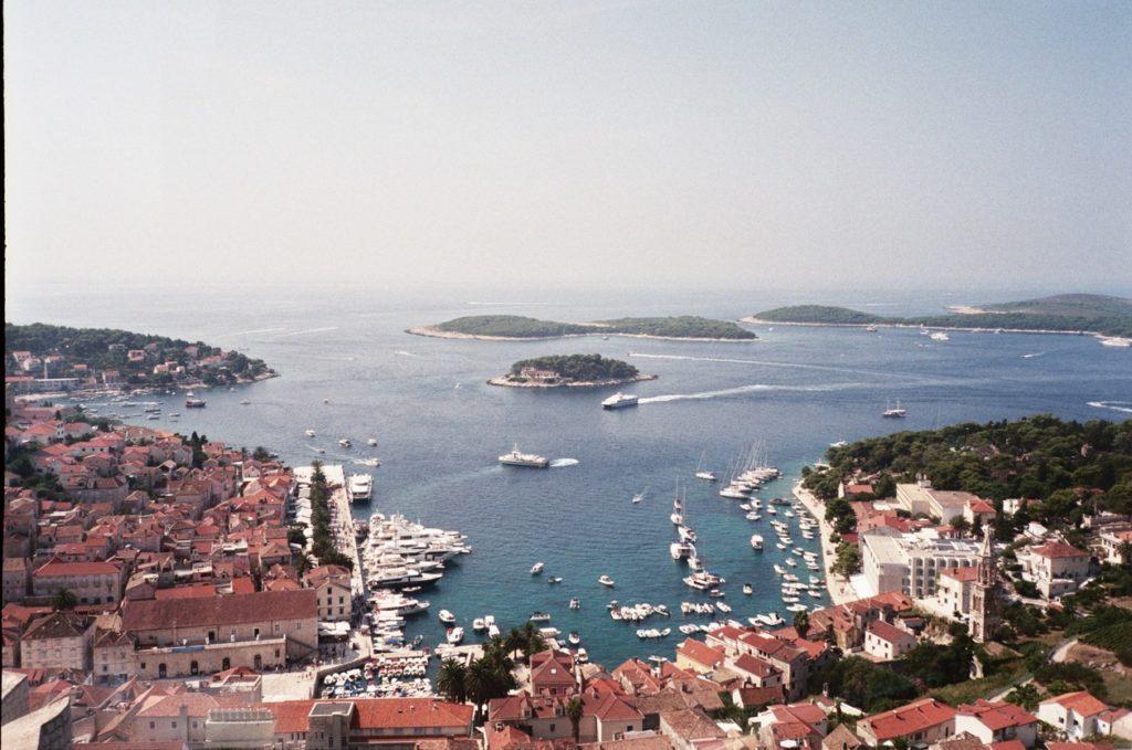 Croatie Analog Paysage