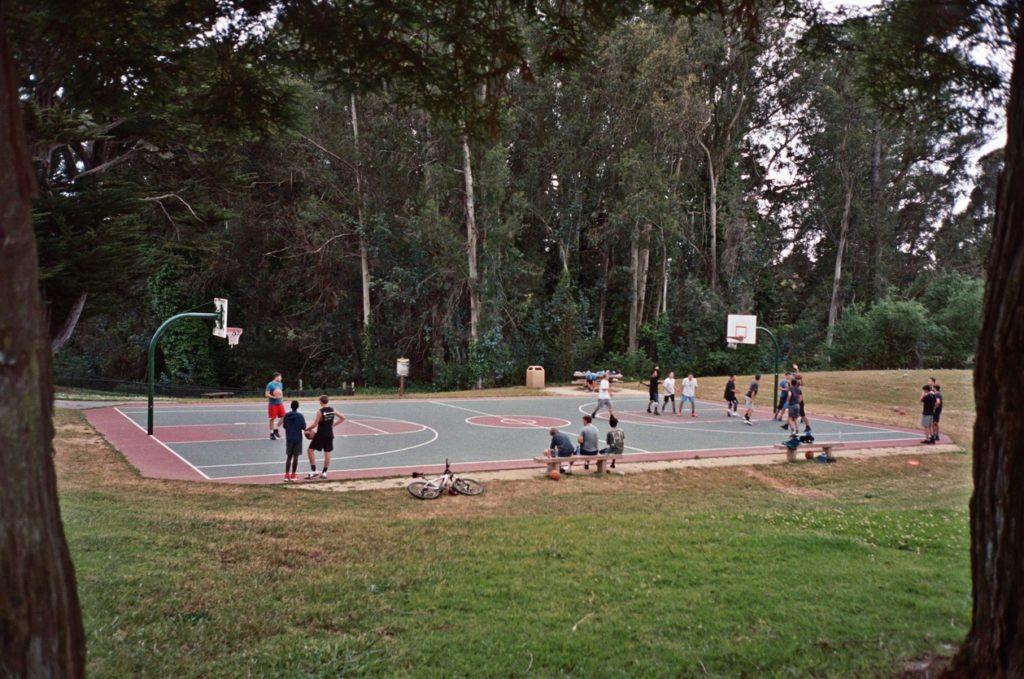 Playground Basketball Californie Argentique