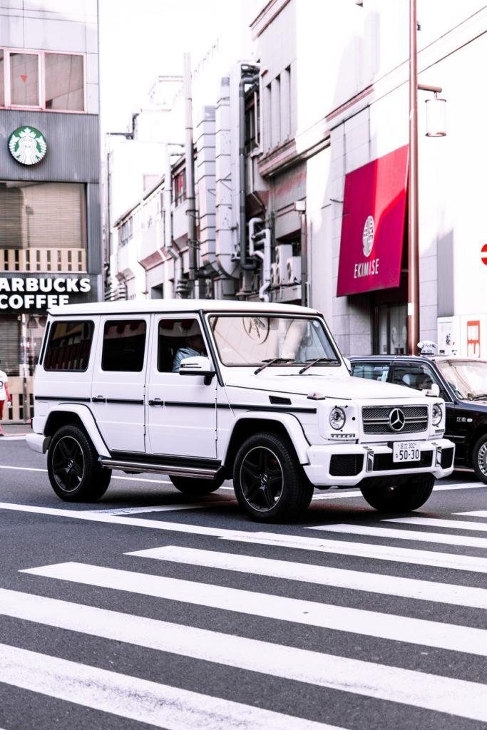 Tokyo Photography Car