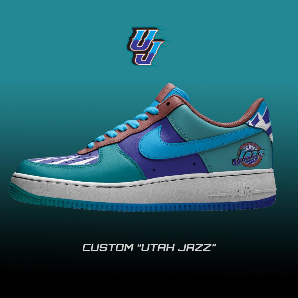 Nike Air Force One Custom Jazz