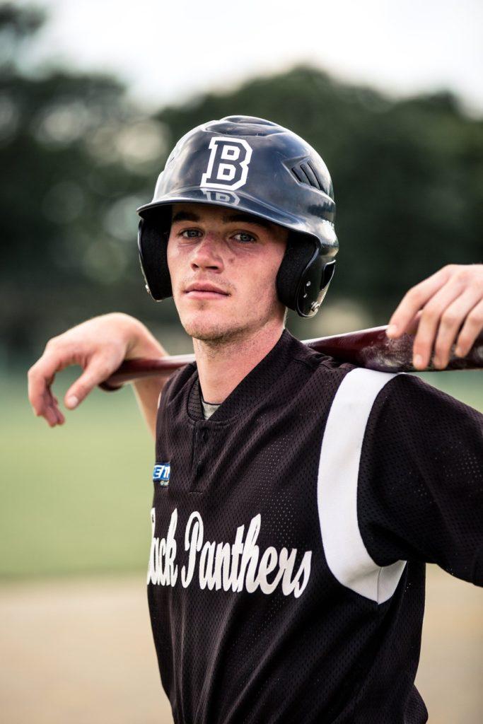Baseball Rennes Portrait