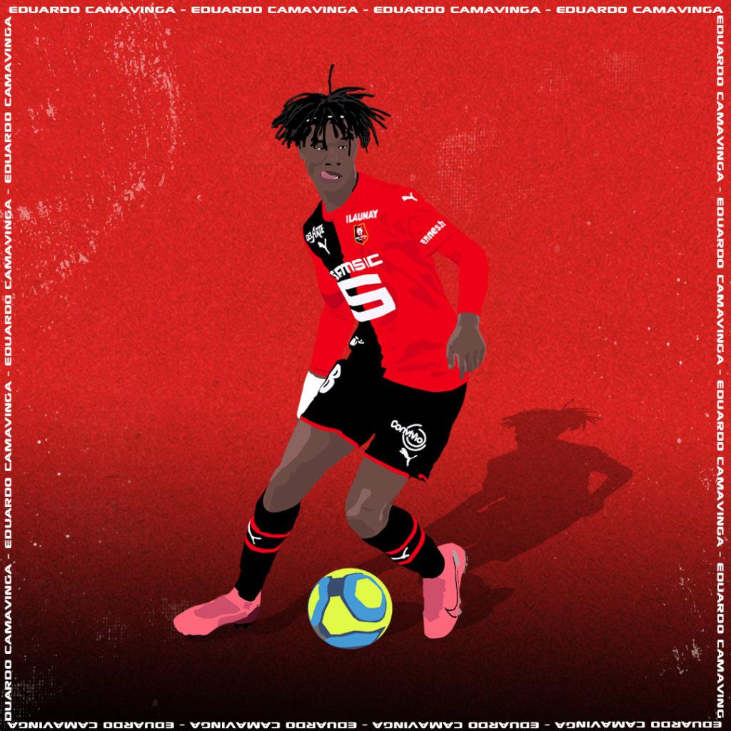 Camavinga Football Graphisme