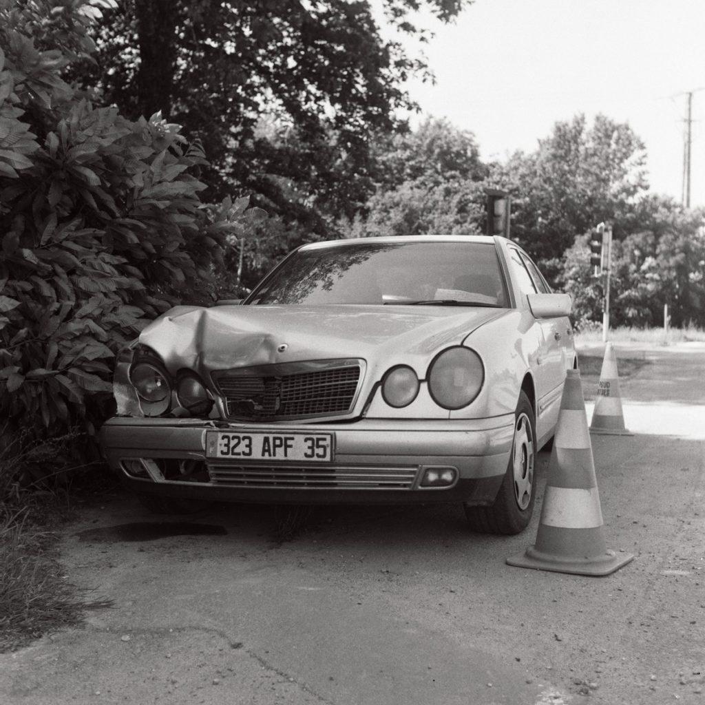 Mercedes Rennes Argentique