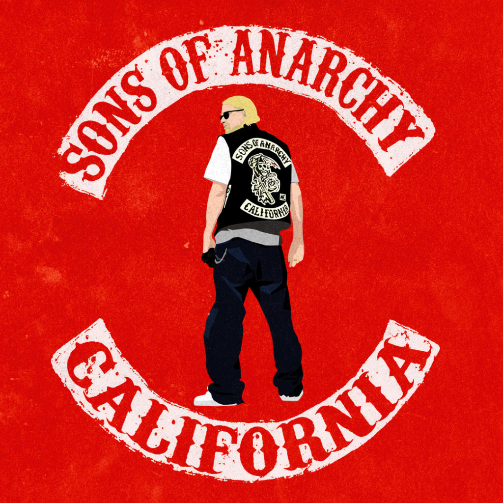 Sons of Anarchy Graphisme
