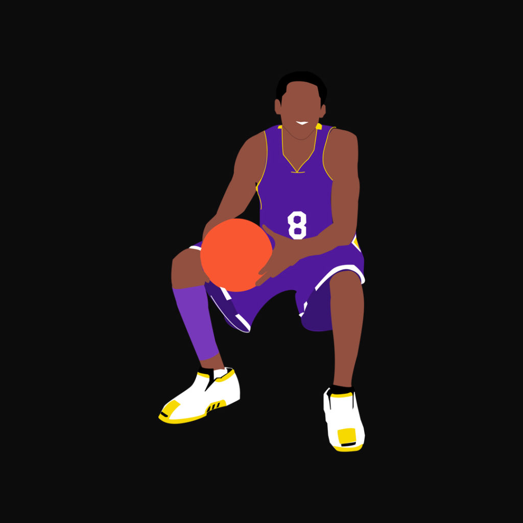 Kobe Lakers Graphisme