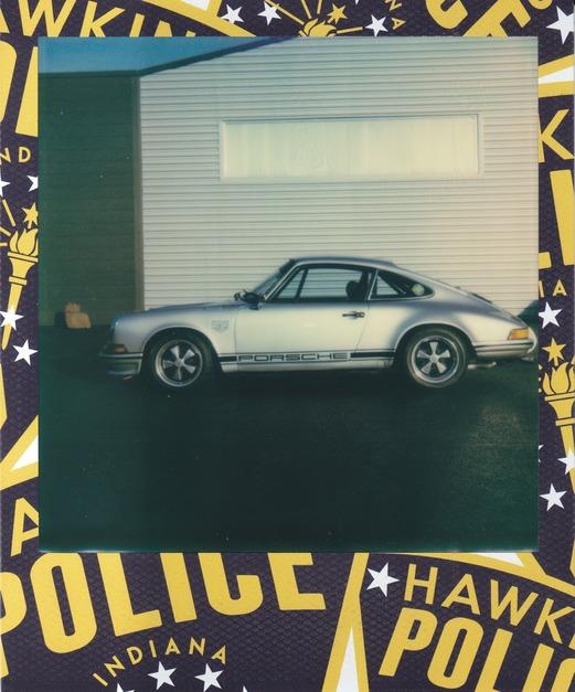 Polaroid Porsche