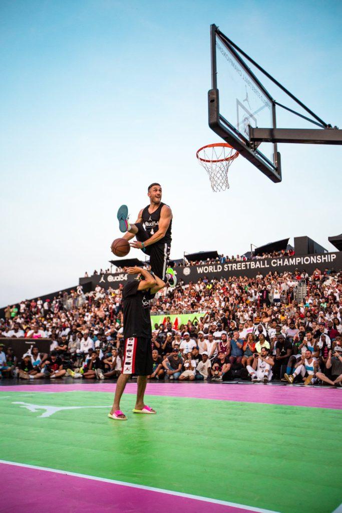 Quai 54 Basketball Dunk