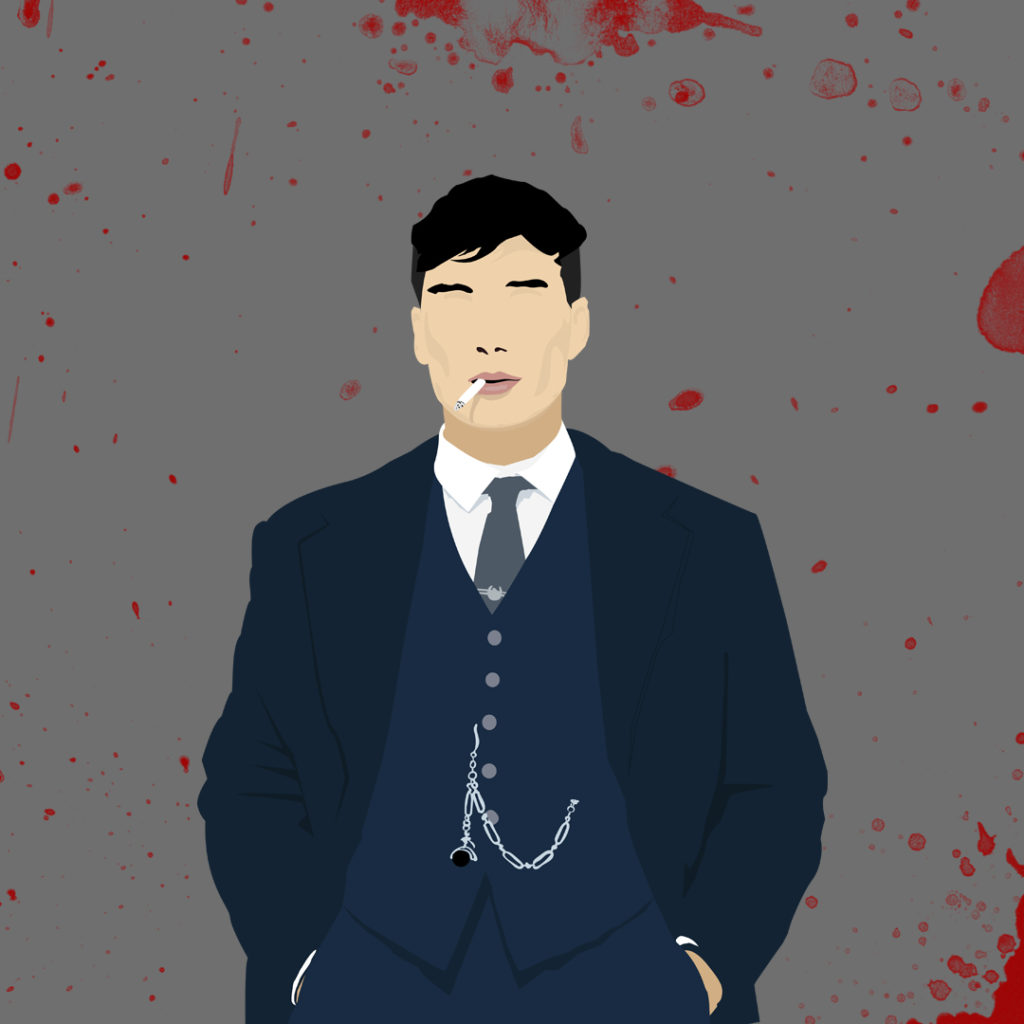 Tommy Shelby Graphisme