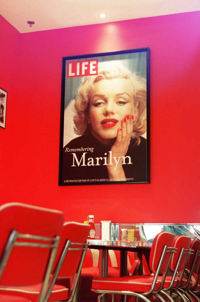 Analog Photography Marilyn Monroe
