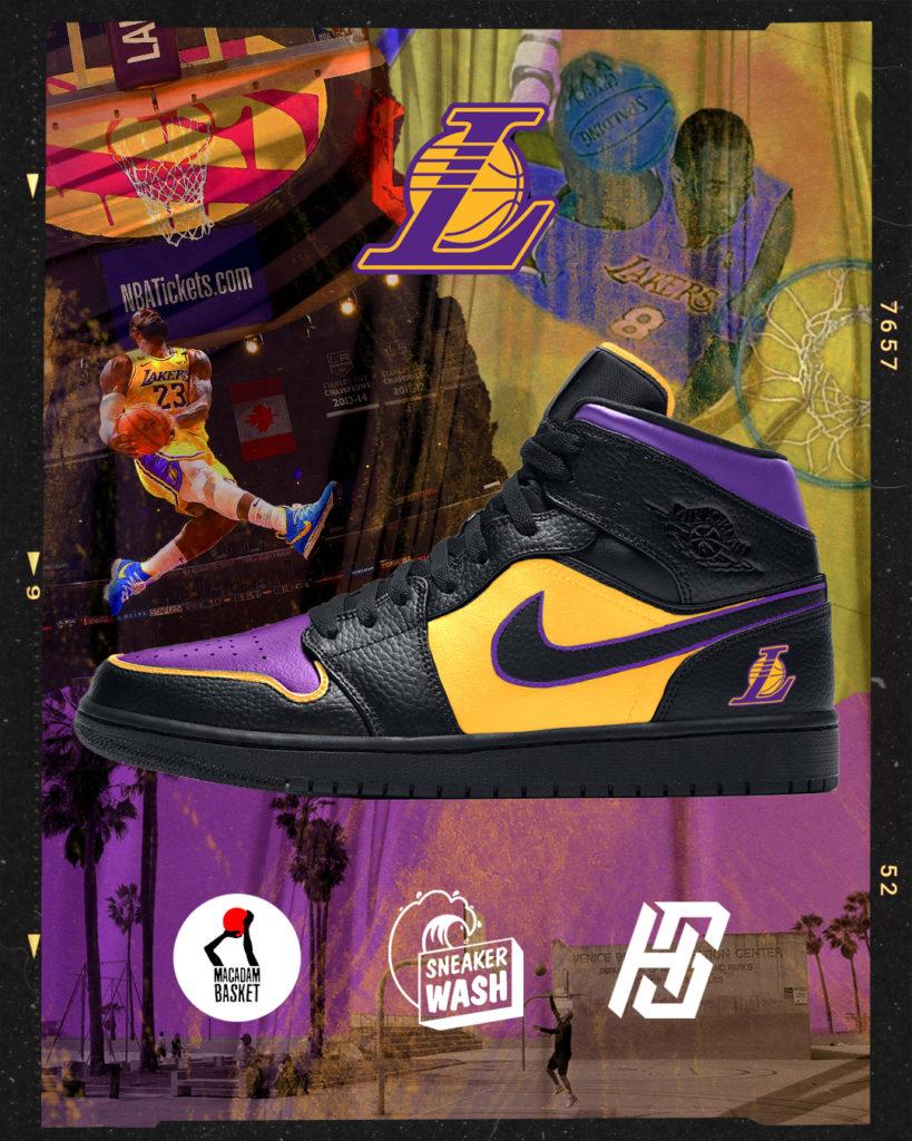 Sneakers Graphisme Los Angeles