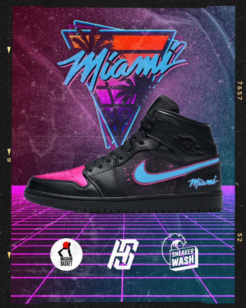 Sneakers Graphisme Miami